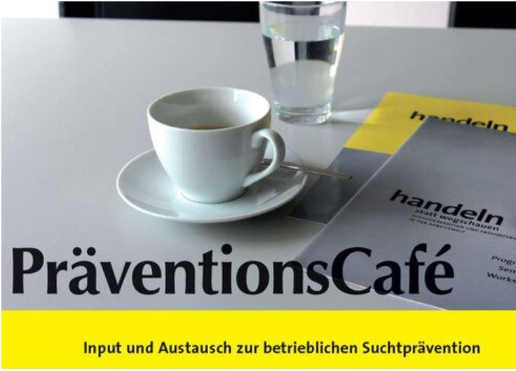 PräventionsCafe Headline mit Subline